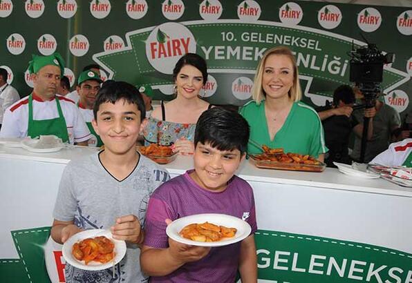 10. Geleneksel Fairy Yemek Şenliği gerçekleşti