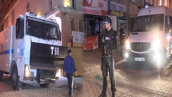 Sultangazi'de 300 yabancı uyruklu kişi tahliye edildi