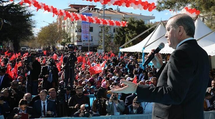 Cumhurbaşkanı Tayyip Erdoğan Burdur'dan Anayasa Mahkemesine Seslendi