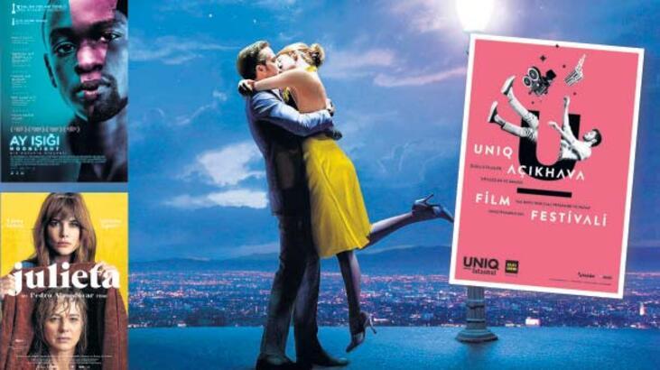 Açık hava sinema keyfi başlıyor