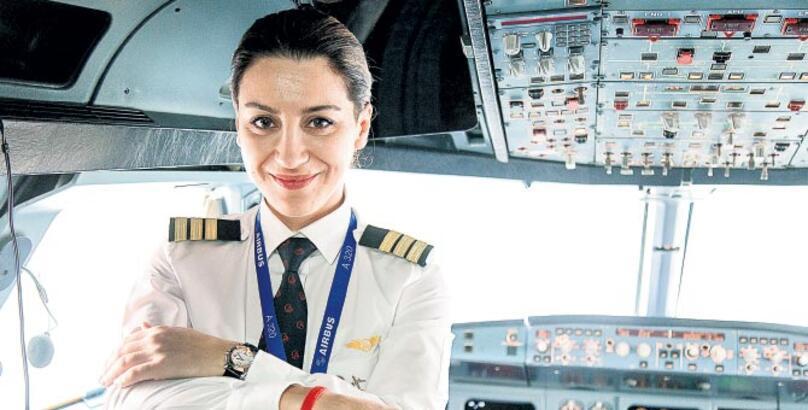 """""""Lisedeyken de pilot olmak istiyordum"""""""