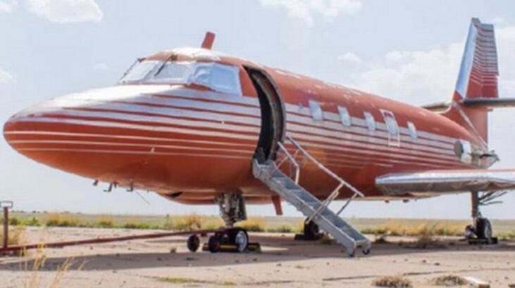 Elvis Presley'nin özel jeti satılıyor