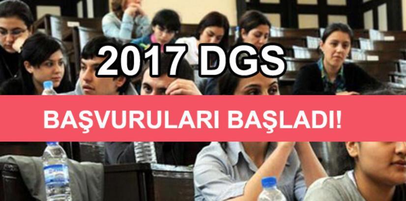 DGS başvurusu nasıl yapılır? (2017 DGS başvuru işlemleri)