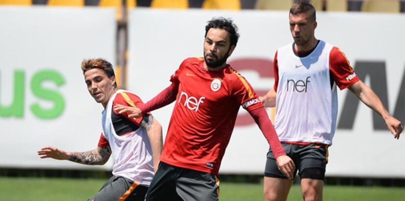 Galatasaray'da Aytemiz Alanyaspor maçı hazırlıklarını sürdürdü