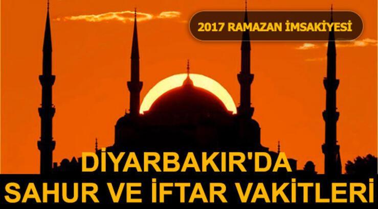 Diyarbakır'da sahur ve iftar vakti saat kaçta?