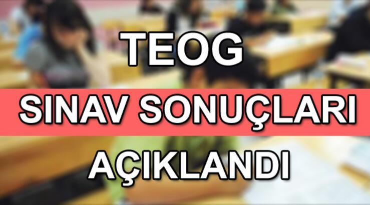 TEOG sınav sonuçları E-okul'da erişime açıldı! E-okul TEOG sınav sonuçları sorgulama