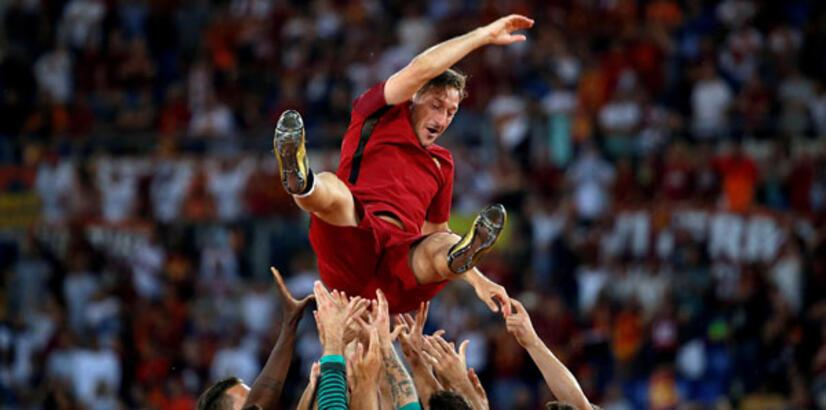 UEFA'dan Totti'ye ödül