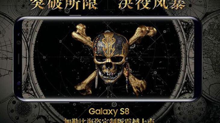 Galaxy S8'in Karayip Korsanları'na özel versiyonu satışa çıktı
