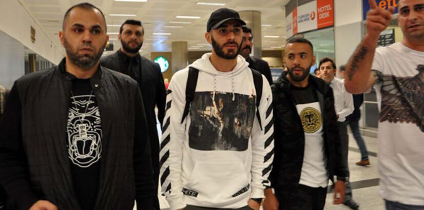 Real Madridli Benzema İstanbul'da!
