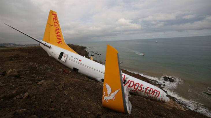 Son dakika: Trabzon'da pistten çıkan uçakla ilgili şok iddia!