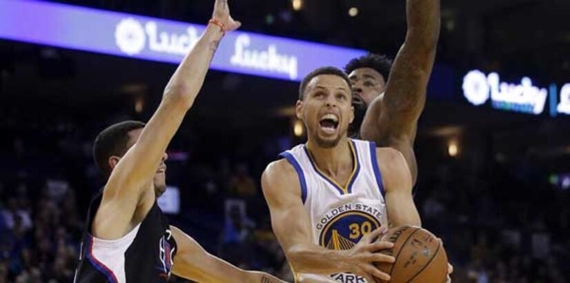 Curry-Thompson ikilisinden 65 sayı!