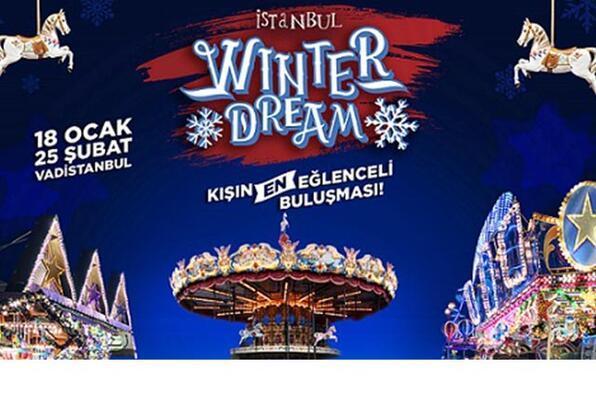 Türkiye'nin ilk ve tek kışlık lunaparkı: İstanbul Winter Dream