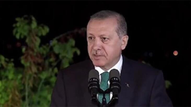 Cumhurbaşkanı Erdoğan: Güzel bir eseri İstanbul'a kazandıracağız