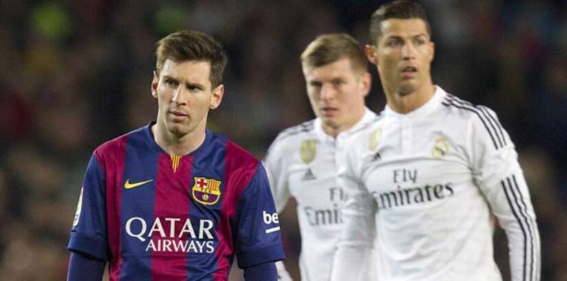 "La Liga'da 4,5 milyar liralık ""El Clasico"""