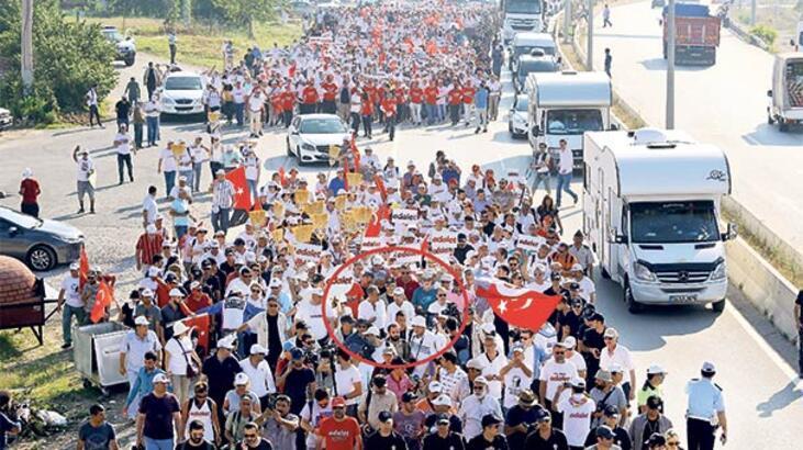 80 milyon  kişi için yürüyoruz