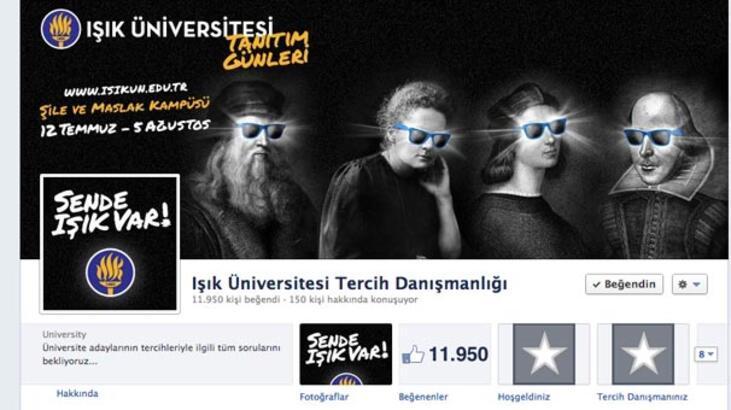 Facebook'ta üniversite tercih danışmanlığı