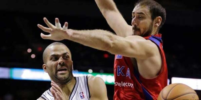 Spurs, CSKA'yı uzatmada yendi: 95-93