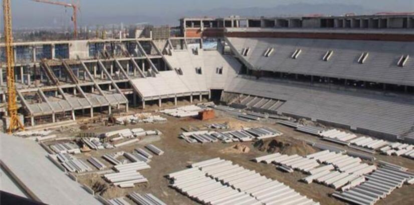 Timsah Arena'da deprem çalışması!