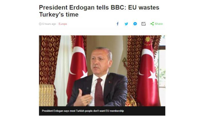 Son dakika: Erdoğan'dan kritik açıklama! 'Bizim için vazgeçilmez değil'