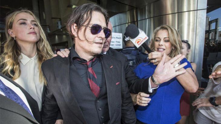 Johnny Depp'in karısı 'köpek kaçakçılığı' suçunu kabul etti