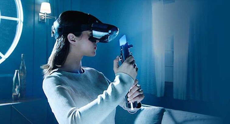 Lenovo'dan Star Wars sanal gerçeklik sistemi geliyor