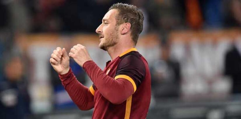 """Totti hem Torino'yu hem Spalletti'yi yeniyor"""