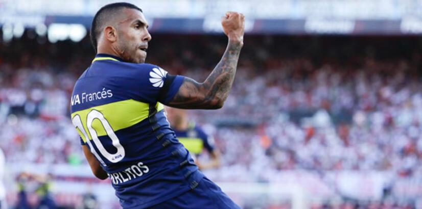 Tevez, yeniden Boca Juniors'ta
