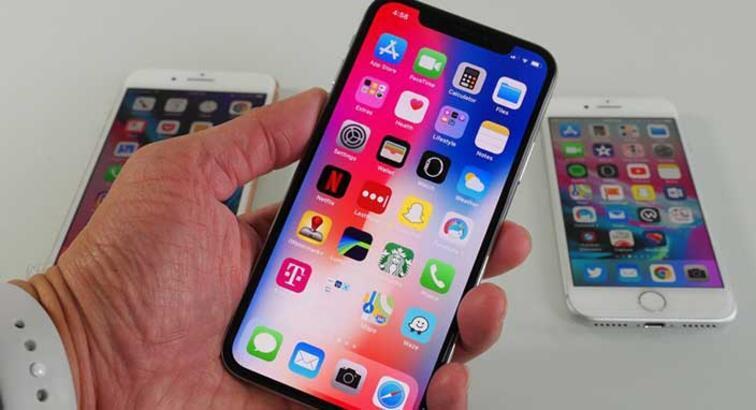 iPhone X, OLED ekran yanma testinden tam not aldı