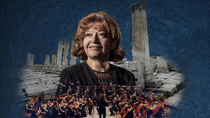 İdil Biret'ten 'Gladyatörler Kenti'nde konser