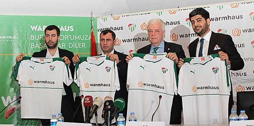 Bursaspor'da 3.5 milyon TL'lik imza