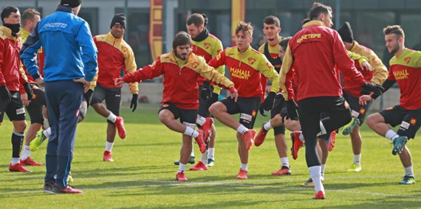 Göztepe'de hazırlıklar başladı!
