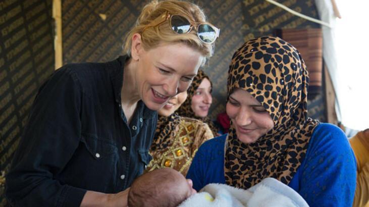 BM'nin iyi niyet elçisi  Cate Blanchett oldu