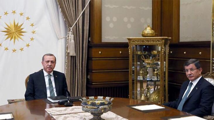 Erdoğan-Davutoğlu görüşmesinden dikkat çeken mesaj