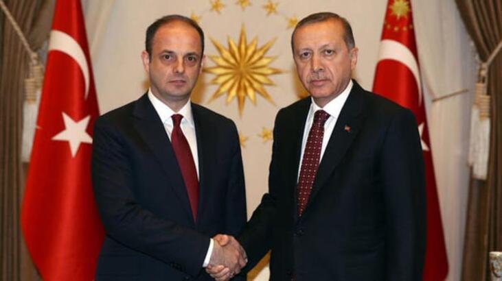 Erdoğan, Çetinkaya ile görüştü