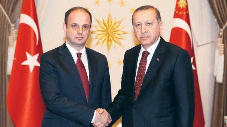 Erdoğan, Merkez Bankası Başkanı'nı kabul etti