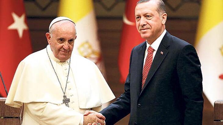 Papa ile Kudüs'ü görüştü