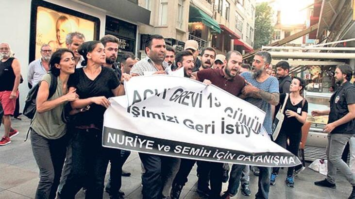 Kadıköy'de 16 gözaltı
