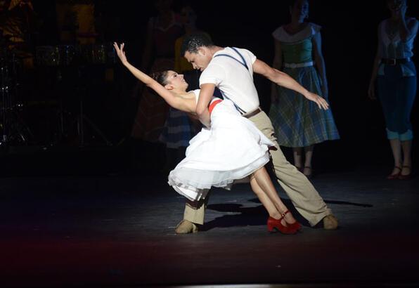 Lizt Alfonso Dance Cuba ile final