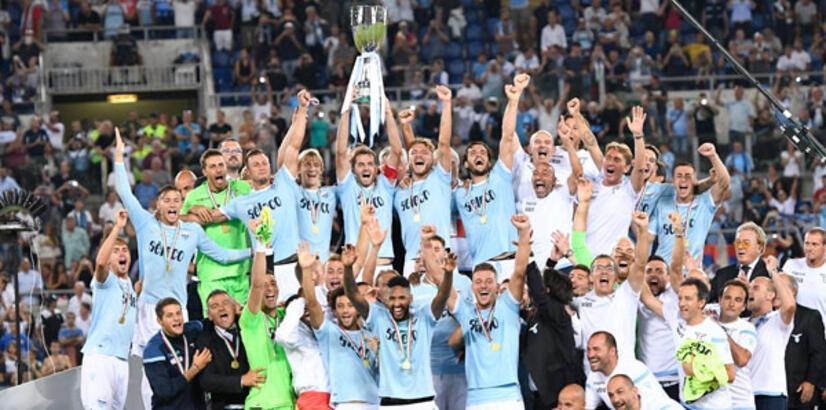 İtalya Süper Kupası Lazio'nun!