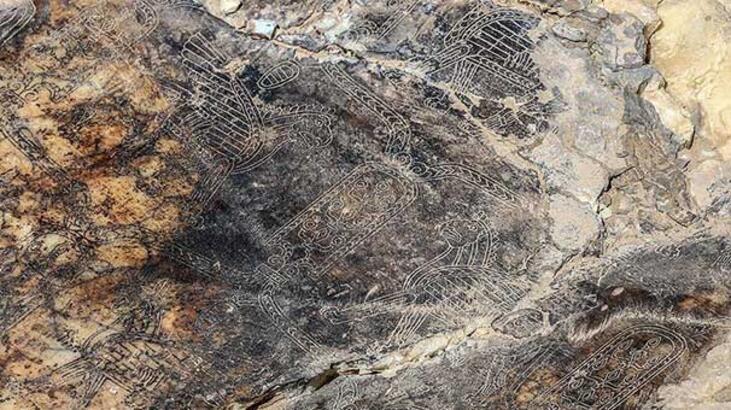 Van'da 2 bin 700 yıllık süslemeler tarihe kazandırılıyor