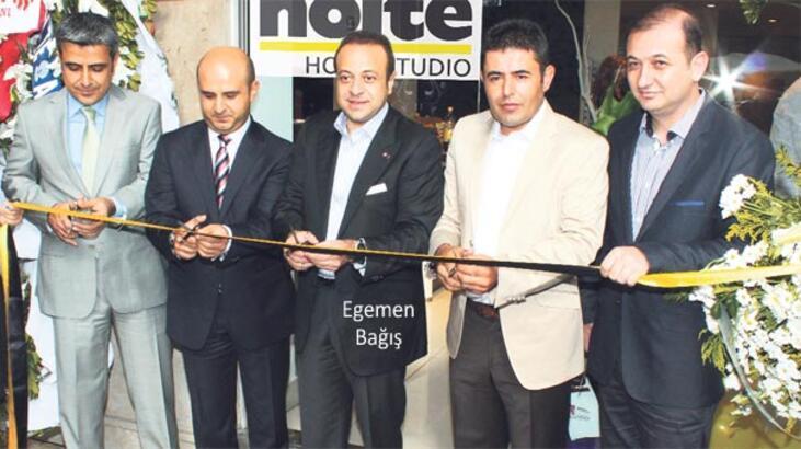 Nolte'nin express mutfak mağazası Kalamış'a geldi