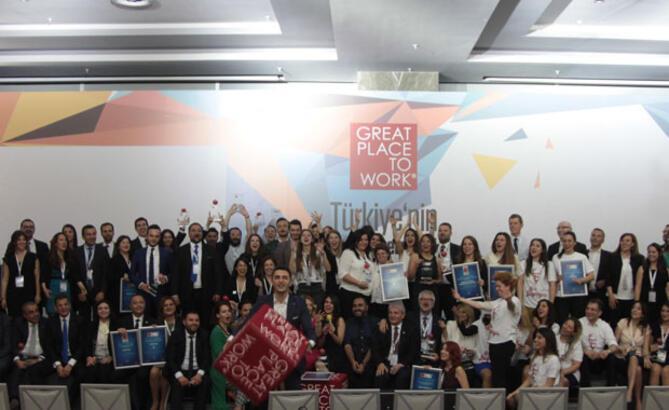 2016 Türkiye'nin En İyi İşverenleri Listesi