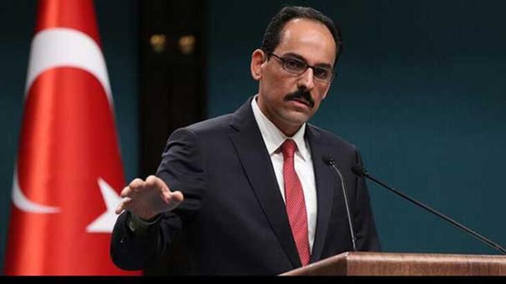 Cumhurbaşkanlığı Sözcüsü Kalın:Erbil yönetimine referandum uyarısı