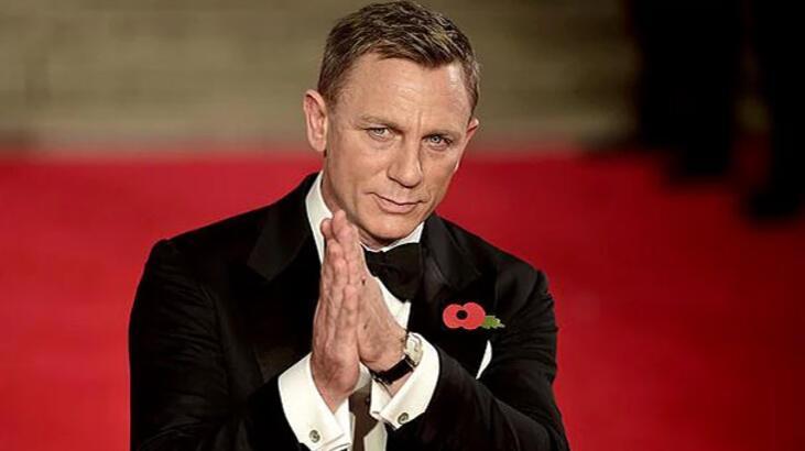 Daniel Craig, 'James Bond' olarak dönüyor