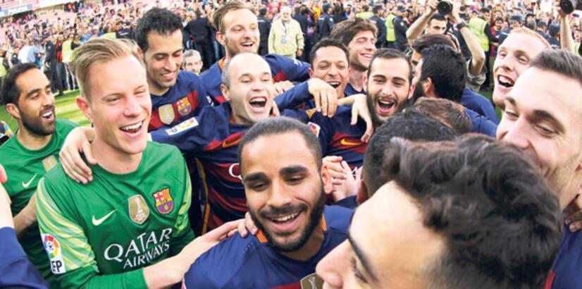Şampiyonluk ustası Barcelona