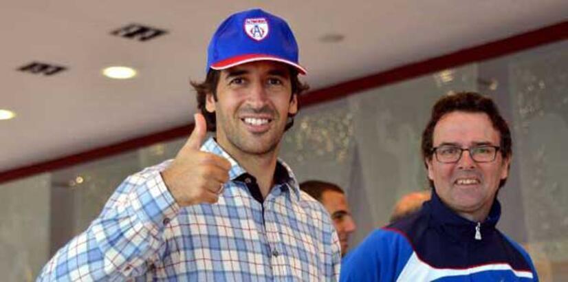 Raul'un şapkasını taktığı Türk takımı!