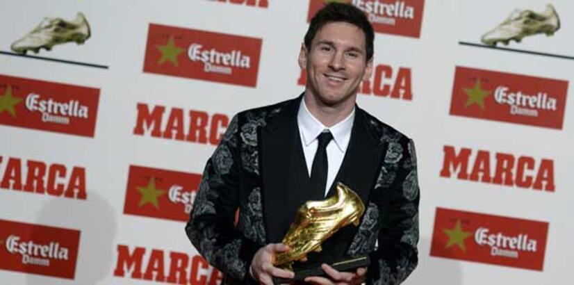 Messi 'Altın Ayakkabı' ödülünü aldı!