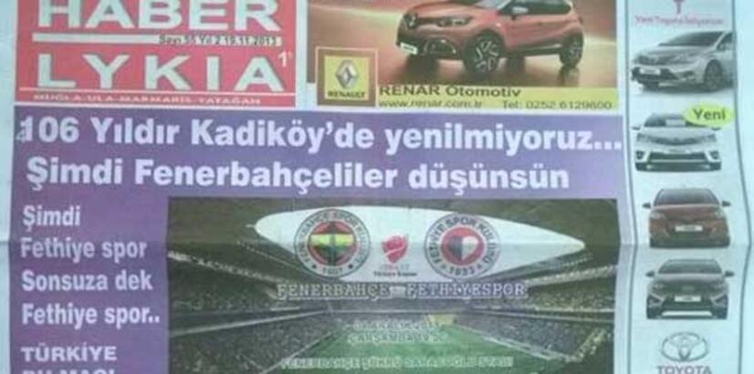 Fenerbahçe'ye tarihi gönderme!