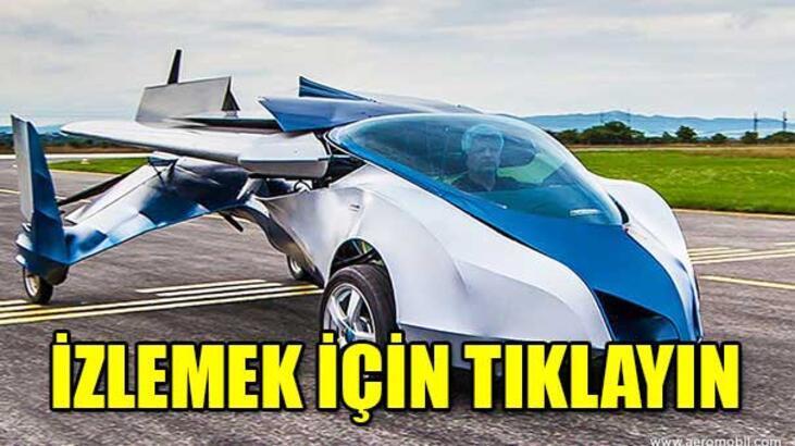 Uçan araba geliyor!