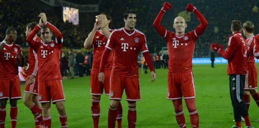 Bayern zirvede tek başına